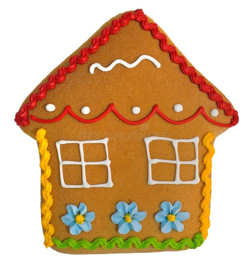 De cake van het huis stock fotografie
