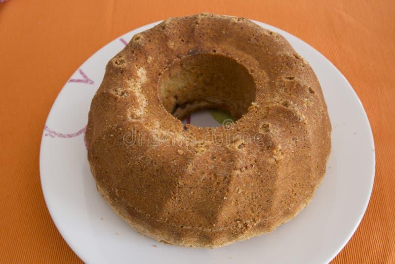 De cake van madera of van het pond royalty-vrije stock foto's