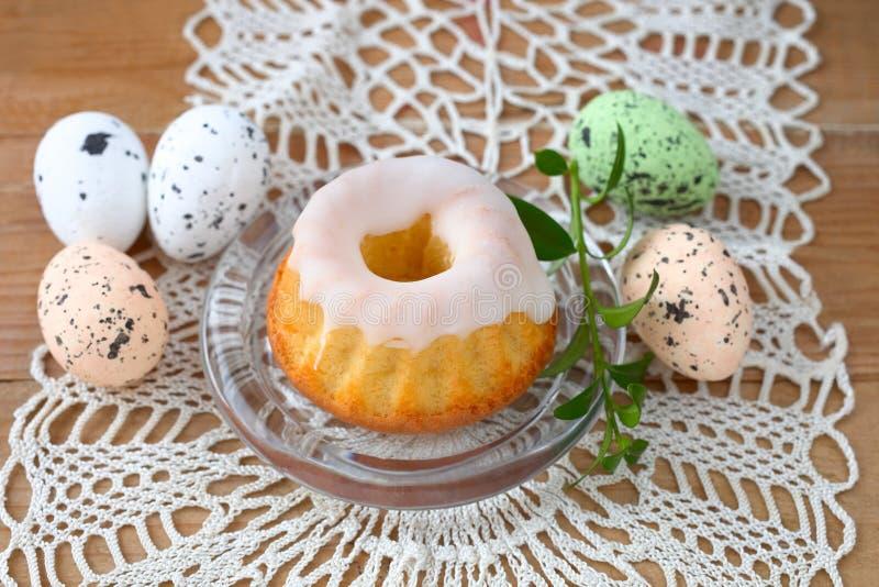 De cake van Pasen bundt royalty-vrije stock fotografie