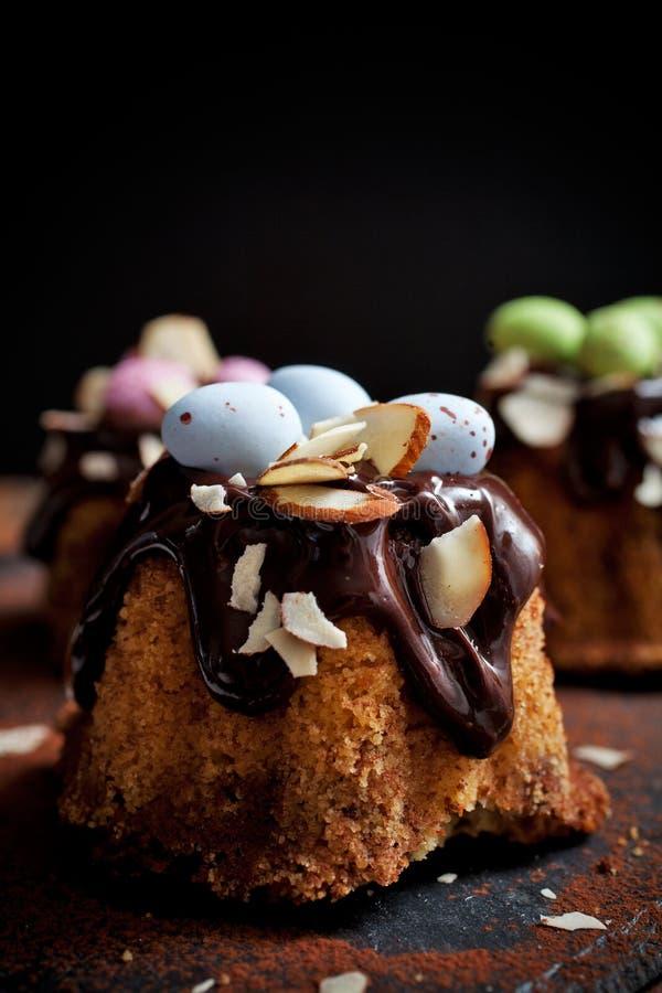 De cake van Pasen bundt stock afbeeldingen
