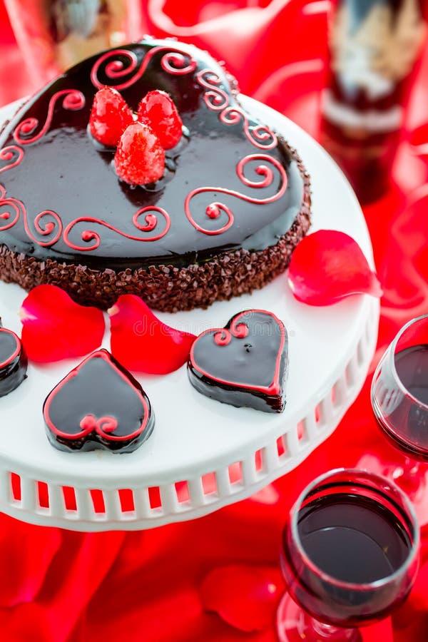 De Cake van Raspbeverlyflourless royalty-vrije stock fotografie