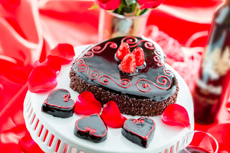 De Cake van Raspbeverlyflourless royalty-vrije stock afbeeldingen