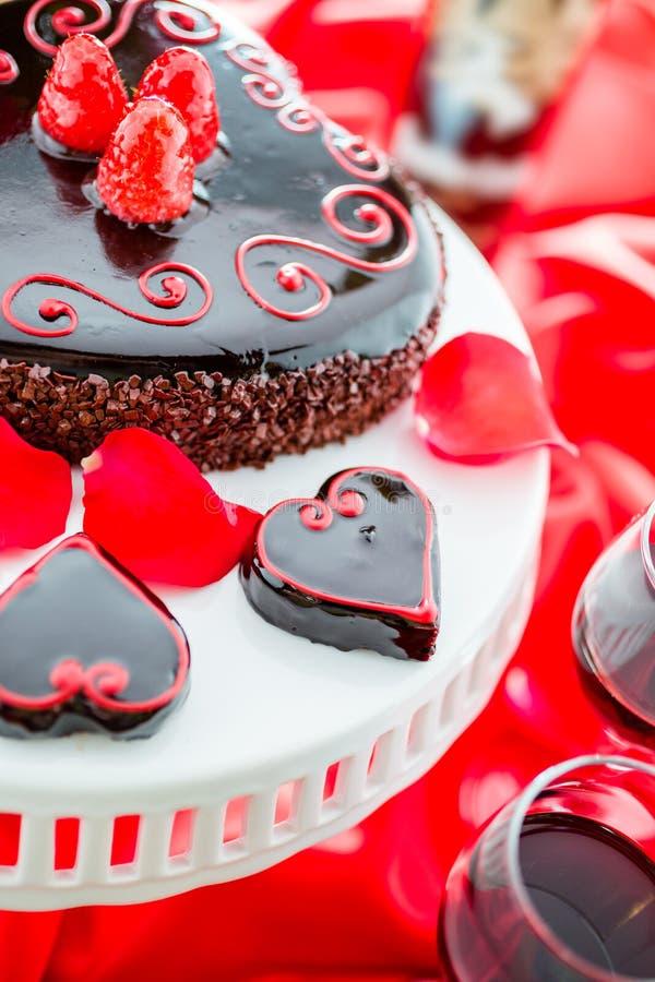 De Cake van Raspbeverlyflourless royalty-vrije stock foto's