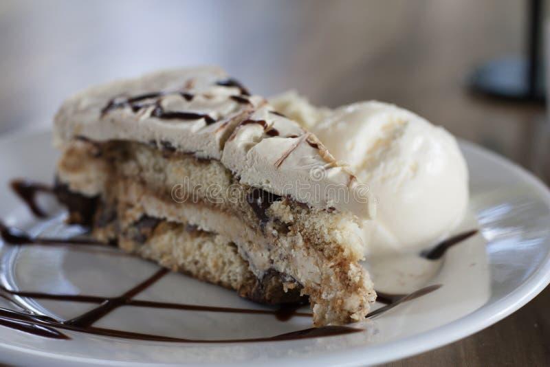 De cake van Tiramisu stock foto