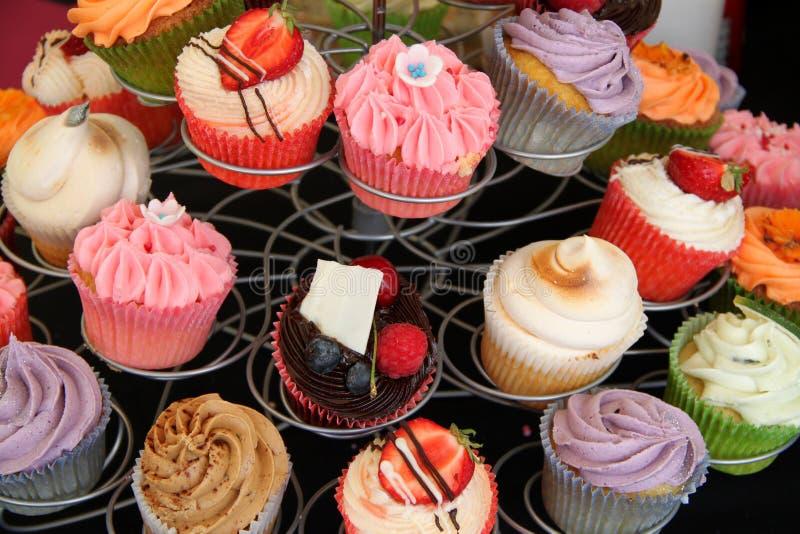 De cakes van de kop royalty-vrije stock afbeeldingen