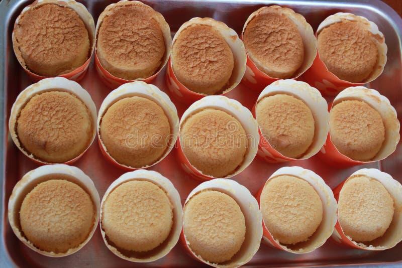 De cakes van de kop stock fotografie