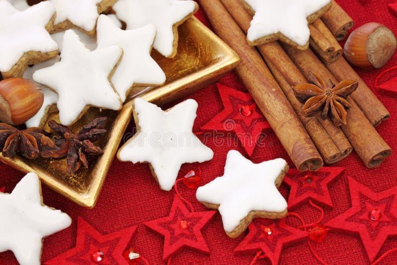 De cakes van Kerstmis stock afbeeldingen