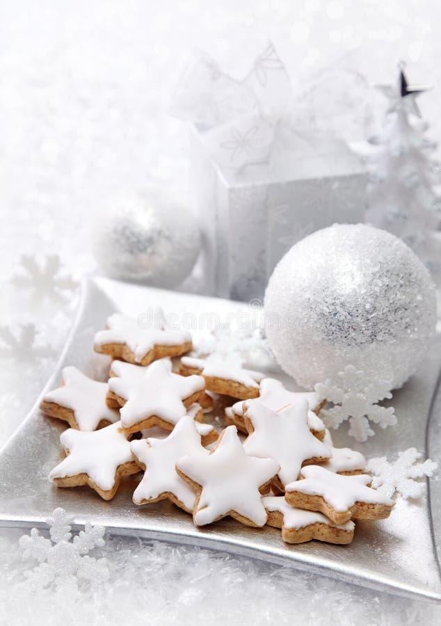 De cakes van Kerstmis royalty-vrije stock afbeeldingen