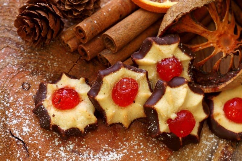 De cakes van Kerstmis royalty-vrije stock foto