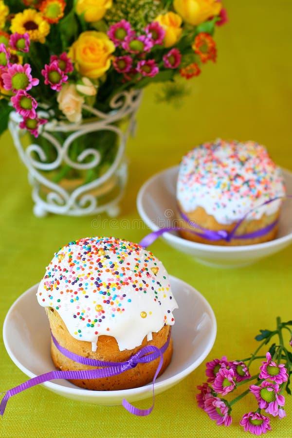 De cakes van Pasen royalty-vrije stock fotografie