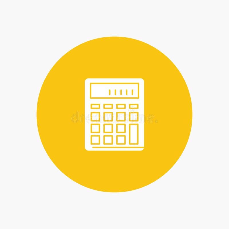 De calculator, Boekhouding, Zaken, berekent, Financieel, Wiskunde stock illustratie