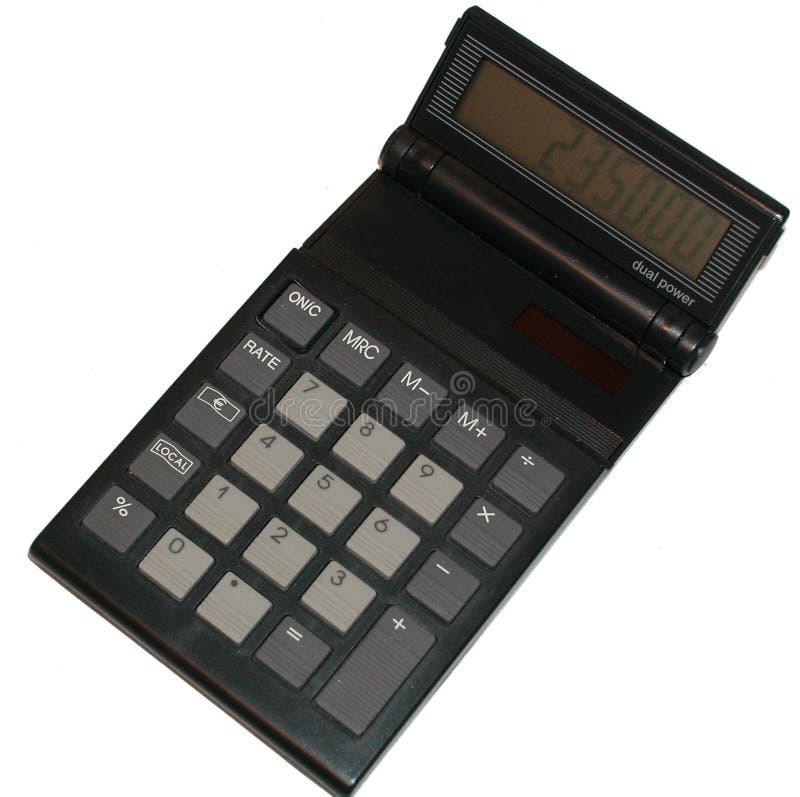 De calculator van de zak royalty-vrije stock fotografie