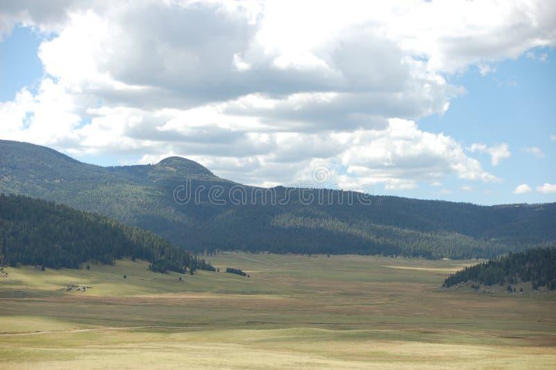 De Caldera van Valles in New Mexico stock foto's
