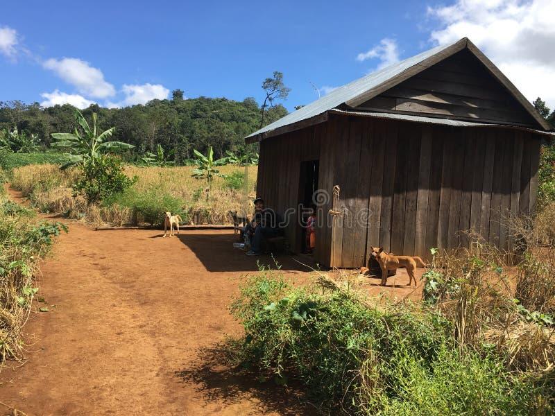 De Camboya Mondulkiri de la provincia interés mismo para los touris fotos de archivo libres de regalías
