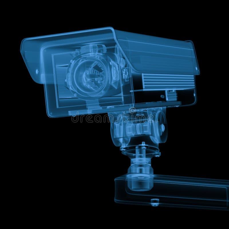 De camera van de röntgenstraalveiligheid of kabeltelevisie-camera royalty-vrije stock afbeeldingen