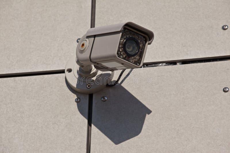 De camera van de veiligheid met infrarood licht stock foto's