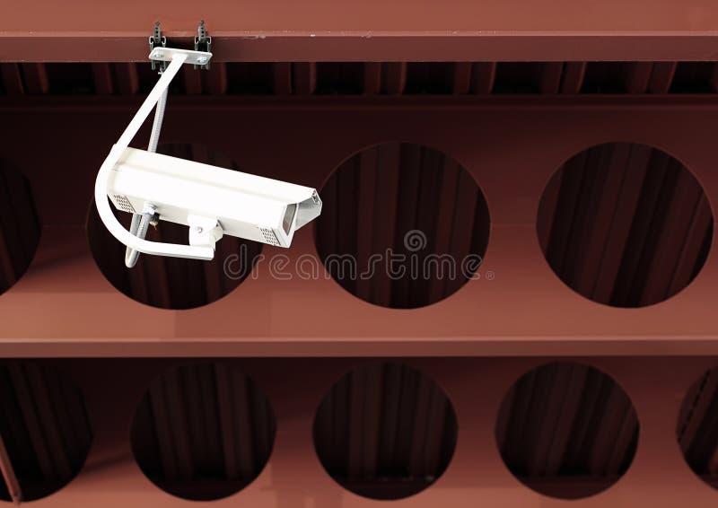 De Camera van de Veiligheid van de Garage van het parkeren stock afbeeldingen