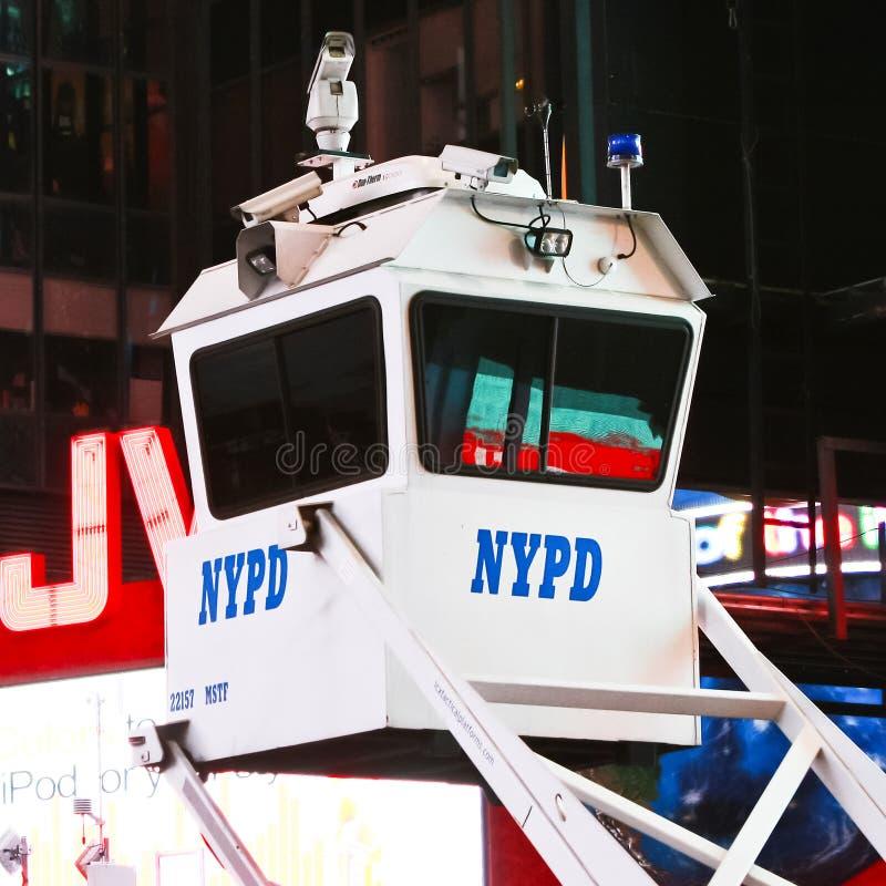 De Camera van het Toezicht NYPD stock foto's