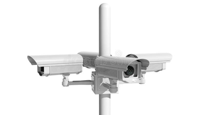 De Camera van het veiligheidstoezicht vector illustratie