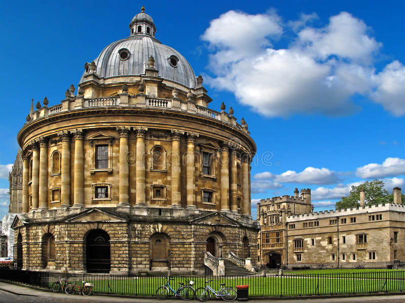 De Camera van Radcliffe op de Universiteit van Oxford royalty-vrije stock afbeelding