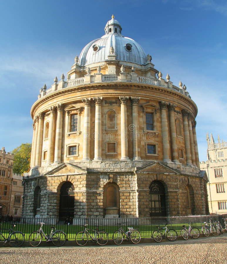 De Camera van Radcliffe, Oxford stock afbeelding