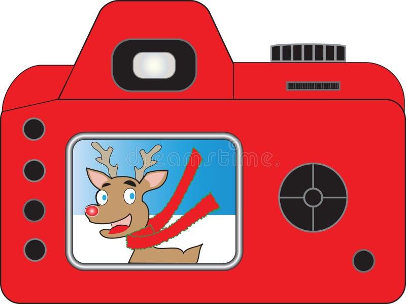 De Camera van Santas vector illustratie