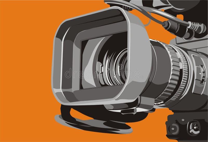 De camera van TV