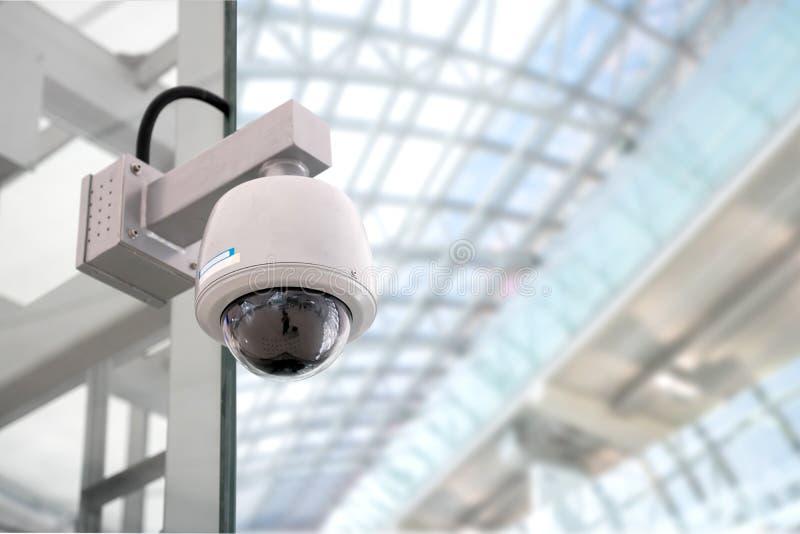 De camera van veiligheidskabeltelevisie royalty-vrije stock afbeeldingen