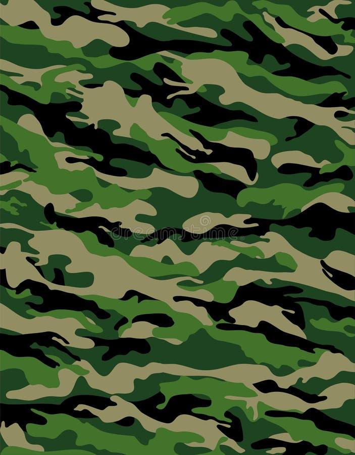 De camouflage van het gevecht vector illustratie