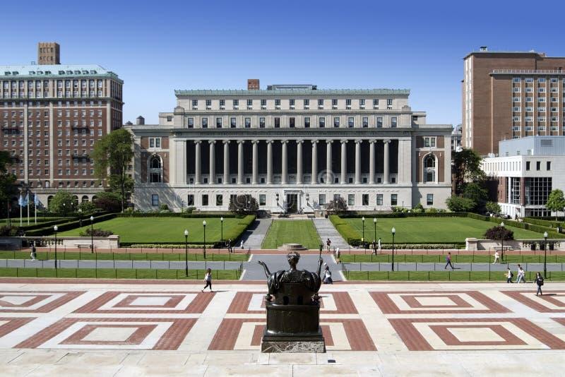 De Campus van de universiteit stock afbeelding