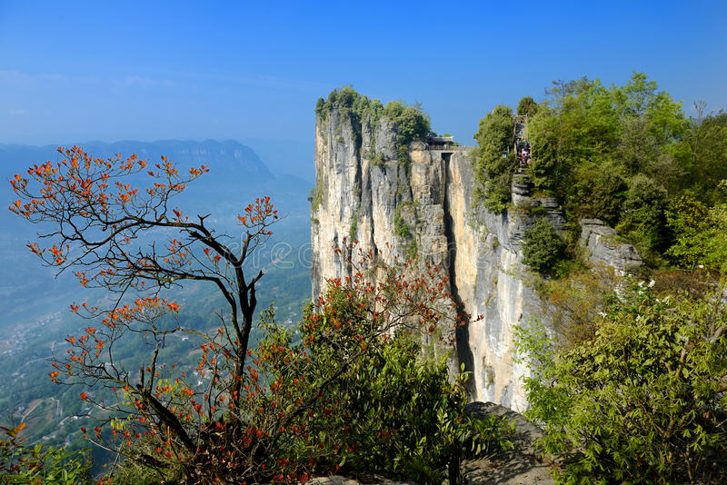 De Canion Toneelgebied van China stock fotografie