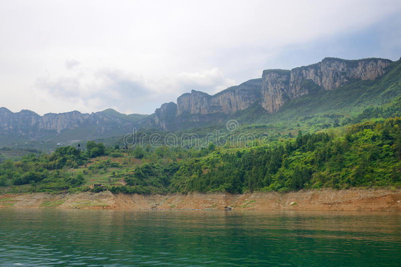 De Canion Toneelgebied van China stock foto