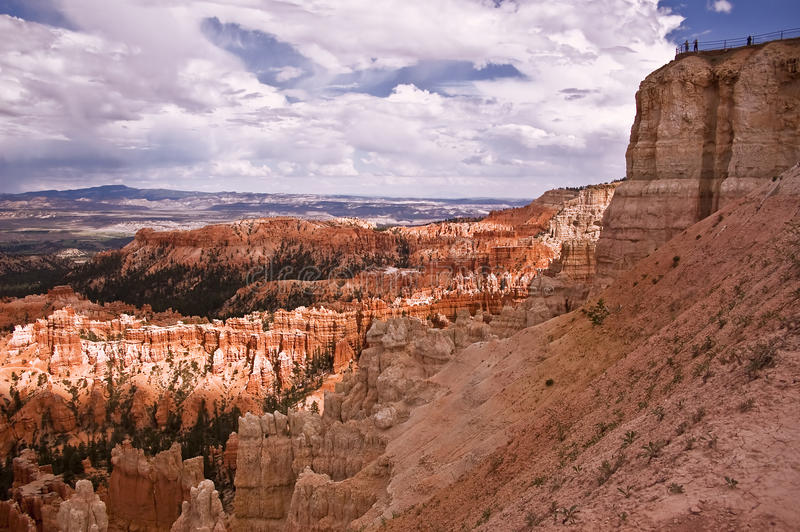 De Canion van Bryce overziet stock foto