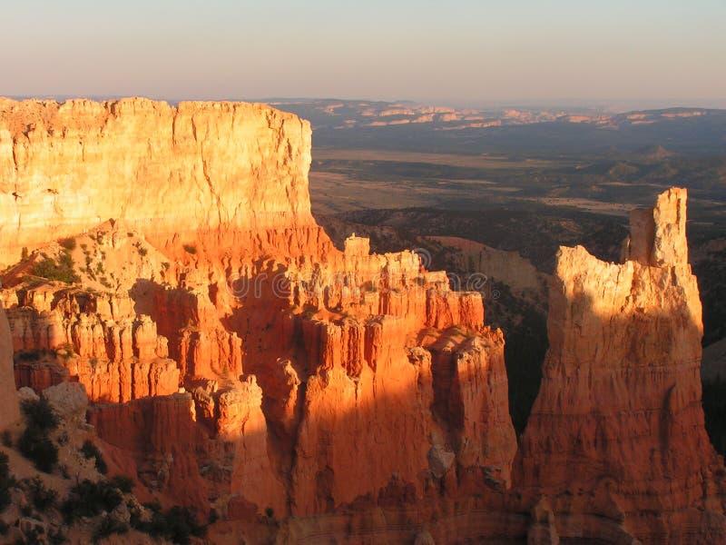 De Canion van Bryce overziet stock fotografie