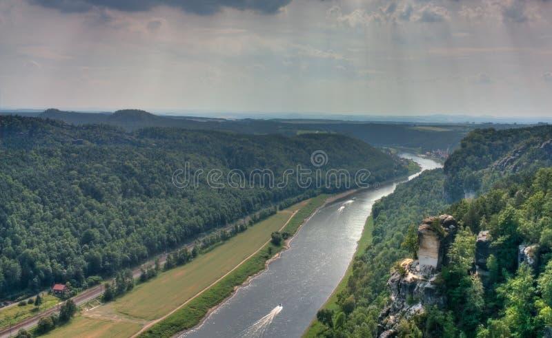 Elbe royalty-vrije stock foto's