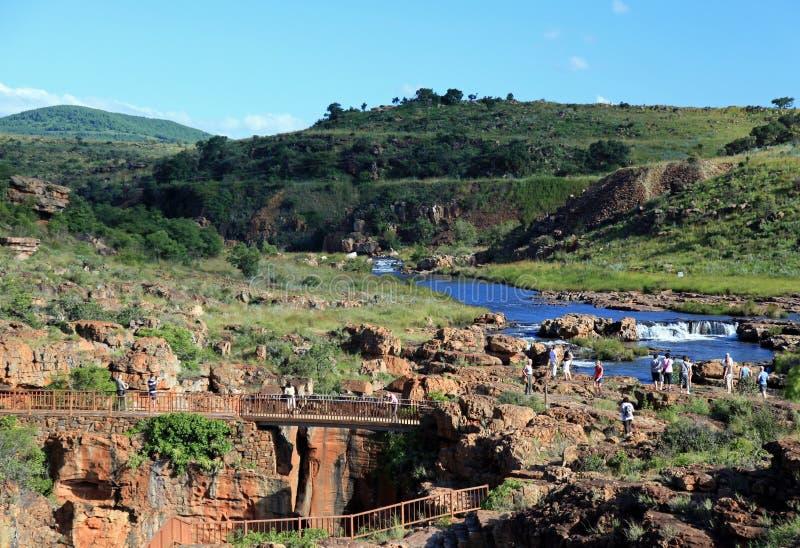 De Canion van de Rivier van Blyde in Mpumalanga royalty-vrije stock foto's