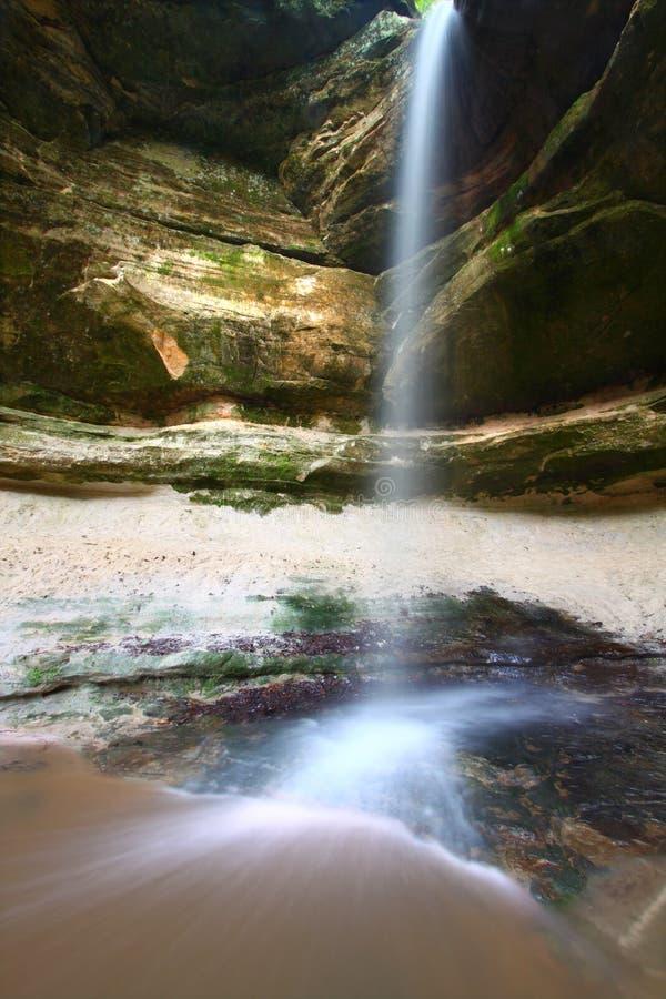 De Canion van de uil - het Uitgehongerde Park van de Staat van de Rots stock foto's