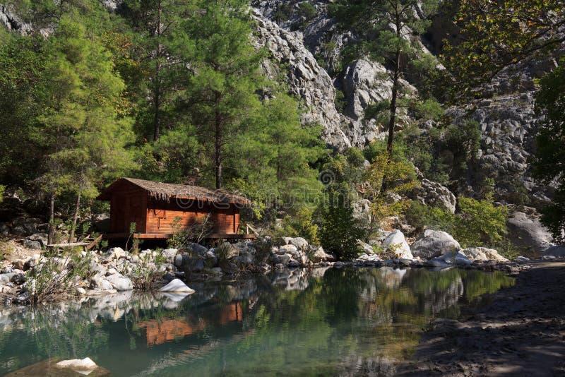 De Canion van Goynuk, Turkije royalty-vrije stock foto's