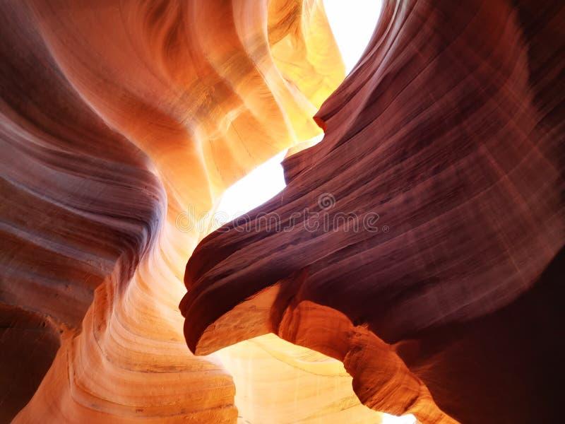 De canion van de groef in Arizona stock foto's