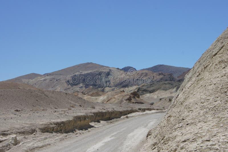 De canion van het twintig muilezelteam, Doodsvallei stock fotografie