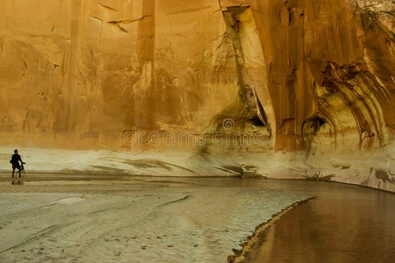 De Canion van Paria - Utah stock foto