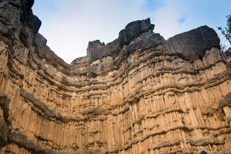 De canion van Phachor in het Nationale Park van Maewang royalty-vrije stock foto's