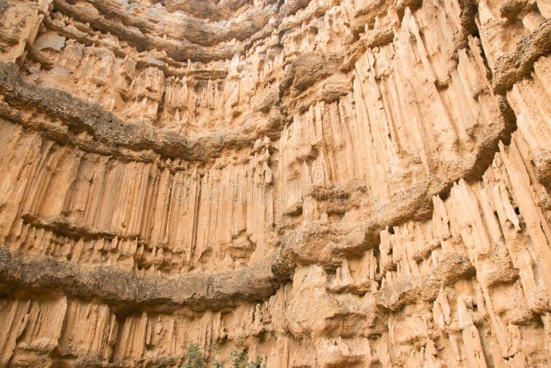 De canion van Phachor in het Nationale Park van Maewang royalty-vrije stock fotografie
