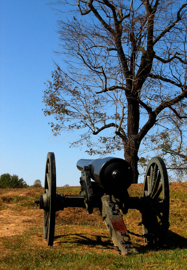 De Canon van de Burgeroorlog royalty-vrije stock foto