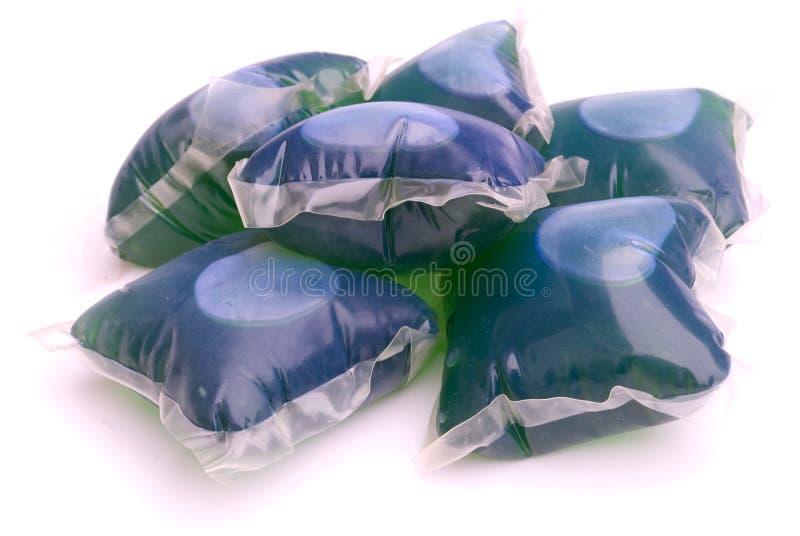 De capsules van het gel stock fotografie