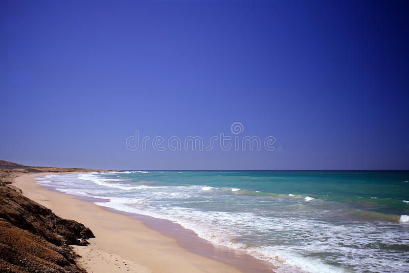 De Caraïbische Zee stock foto