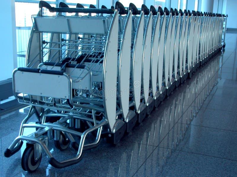 De Carrier Van De Bagage Apparaat. Royalty-vrije Stock Afbeelding