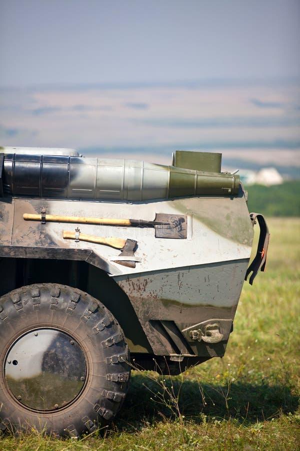 De carrier van het pantser stock afbeelding