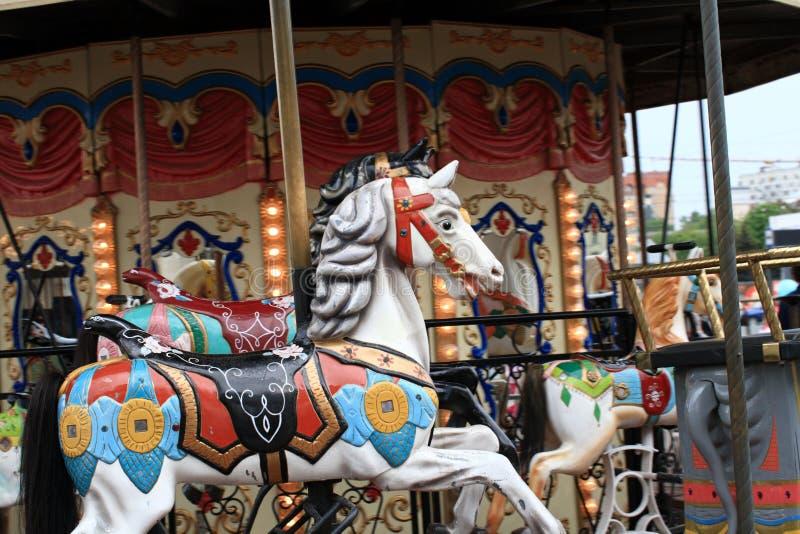 De carrousel stock foto