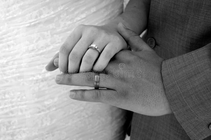 An?is de casamento foto de stock
